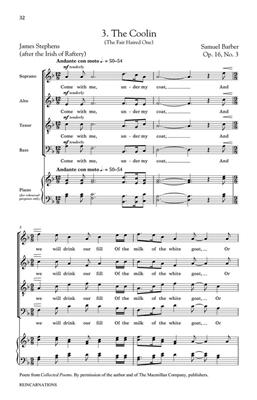 Samuel Barber: Reincarnations - Complete Edition: SATB