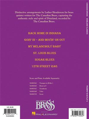 The Canadian Brass: Dixieland Classics: Arr. (Luther Henderson): Trumpet