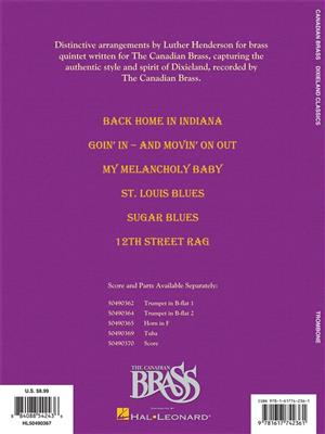 The Canadian Brass: Dixieland Classics: Arr. (Luther Henderson): Trombone
