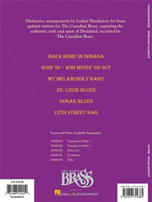 The Canadian Brass: Dixieland Classics: Arr. (Luther Henderson): Brass Ensemble