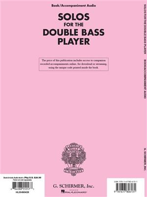 Solos For The Double-Bass Player: Double Bass