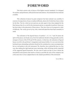 Solos for the Flute Player: Arr. (Louis Moyse): Flute
