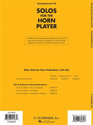 Solos For The Horn Player: French Horn