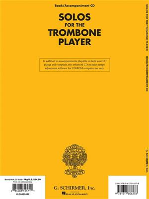 Solos For The Trombone Player: Trombone