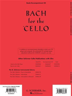 Johann Sebastian Bach: Bach For The Cello - 10 Easy Pieces: Cello