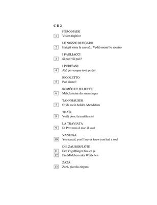 G. Schirmer: Arias for Baritone