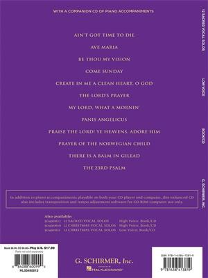 12 Sacred Vocal Solos - Low Voice: Vocal