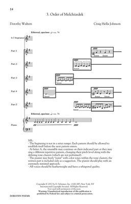 Craig Hella Johnson: Dorothy Poems: Women's Choir
