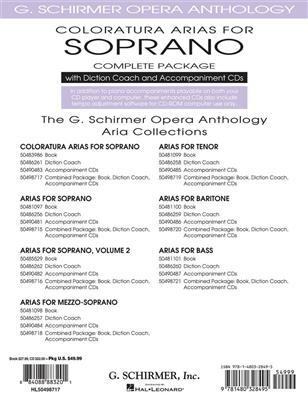 Coloratura Arias For Soprano - Complete Package: Soprano