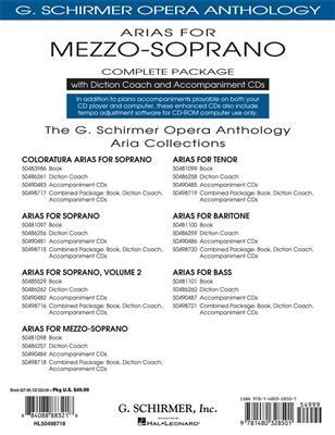 Arias For Mezzo-Soprano - Complete Package: Mezzo-Soprano