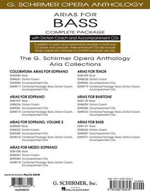 Arias For Bass - Complete Package: Bass