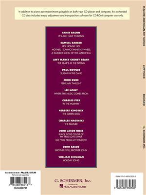15 More American Art Songs: Low Voice