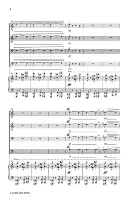 Norman Dello Joio: A Jubilant Song: Arr. (Stan McGill): TTBB