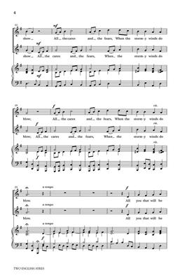 Two English Ayres: Arr. (Emily Crocker): 2-Part Choir
