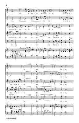 Ivo Antognini: Lux Aeterna: SATB