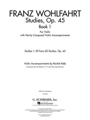 Franz Wohlfahrt: Studies, Op. 45 - Book I: Violin
