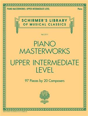Piano Masterworks - Upper Intermediate Level: Piano or Keyboard