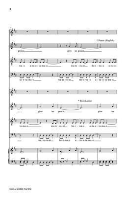 Jon Washburn: Dona Nobis Pacem: Mixed Choir
