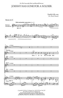 René Clausen: Johnny Has Gone for a Soldier: SATB