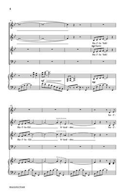 Larry Grossman: Halleluyah (Psalm 150): Mixed Choir