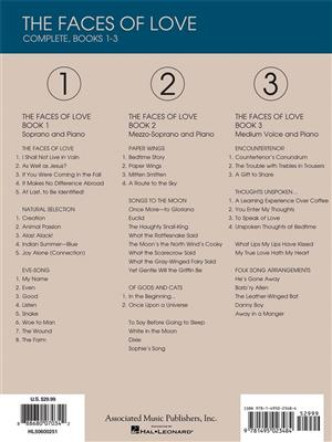 Jake Heggie: The Faces of Love - Complete, Books 1-3: Vocal