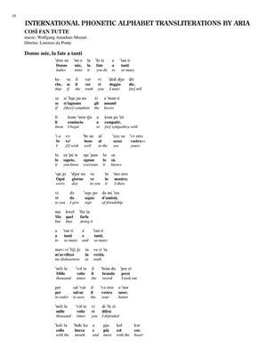 Selected Opera Arias -Baritone: Baritone Voice