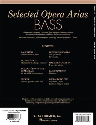 Selected Opera Arias -Bass: Bass
