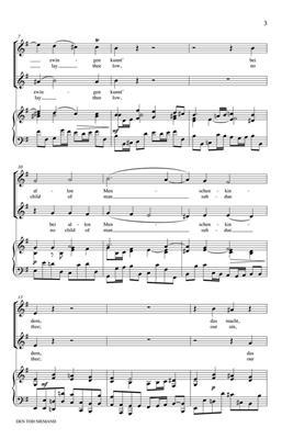 Johann Sebastian Bach: Den Tod Niemand Zwingen Kunnt: 2-Part Choir