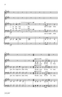 Shawn Crouch: Lullaby: SATB