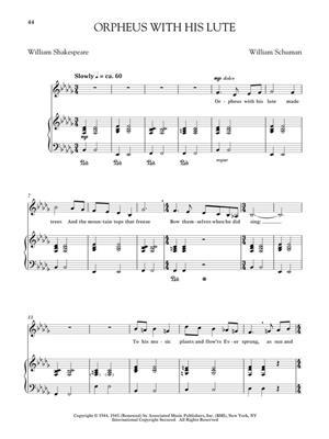 American Art Songs for the Progressing Singer: Bass