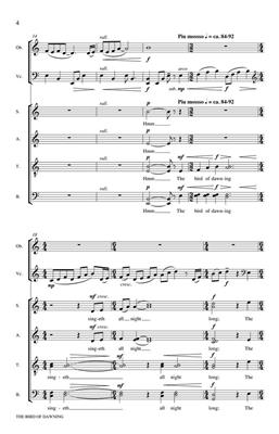 The Bird of Dawning: Arr. (Dale Warland): SATB