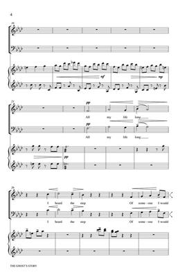 Dominick DiOrio: The Ghost's Story: SATB