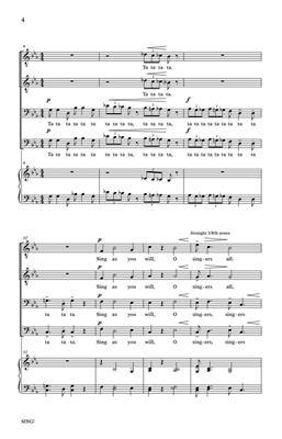 Kirke Mechem: Sing!: Men's Choir