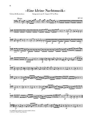 Wolfgang Amadeus Mozart: Divertimento 'Eine Kleine Nachtmusik' K.525: Chamber Ensemble