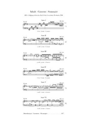 Johann Sebastian Bach: English Suites BWV 806-811: Piano