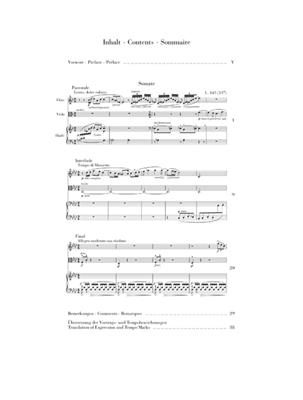 Claude Debussy: Sonata For Flute, Viola And Harp: Mixed Ensemble