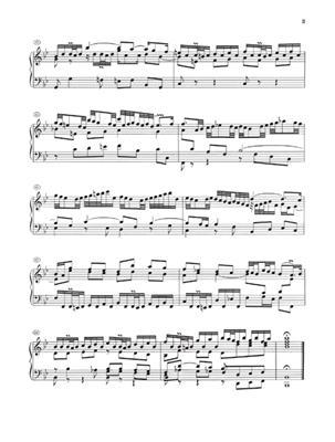 Johann Sebastian Bach: Partitas 1-3 BWV 825-827: Piano