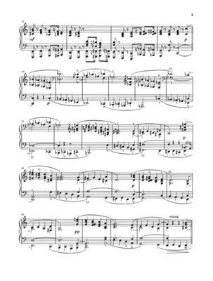 Robert Schumann: Night Pieces op. 23: Piano