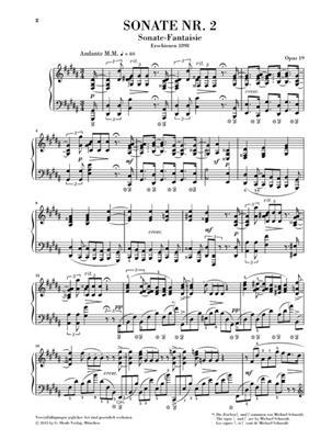 Alexander Skrjabin: Klaviersonate Nr. 2 gis-moll op. 19: Piano