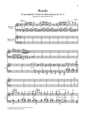 Ludwig van Beethoven: Rondo In B Flat WoO 6 - Piano Reduction: Piano Duet