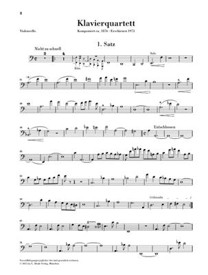 Gustav Mahler: Klavierquartett a-moll: Chamber Ensemble
