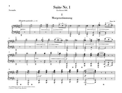 Edvard Grieg: Peer Gynt Suites - Version For Piano Four-Hands: Piano Duet