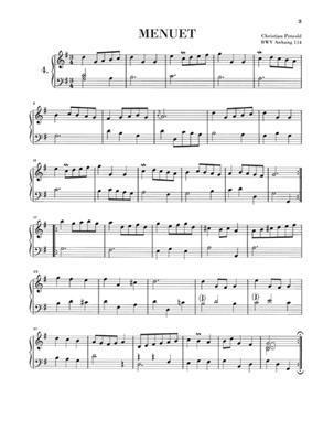 Johann Sebastian Bach: Notebook for Anna Magdalena Bach: Piano