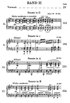 Franz Schubert: Piano Sonatas, Volume II: Piano