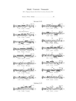 Johann Sebastian Bach: Inventions And Sinfonias Piano Urtext: Piano