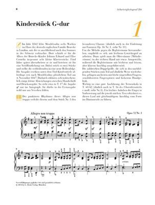 Felix Mendelssohn Bartholdy: Mendelssohn: 13 bekannte Originalstücke: Piano
