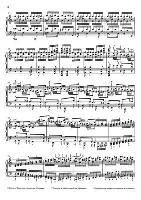 Robert Schumann: Toccata Op.7 - Versions 1830 And 1834: Piano