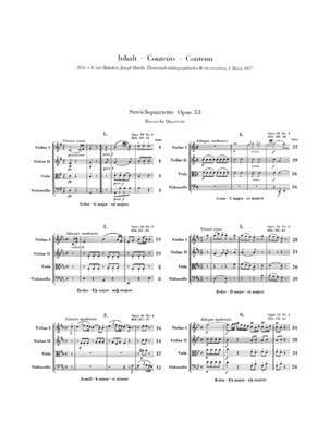 Franz Joseph Haydn: Streichquartette Heft V op. 33: String Quartet