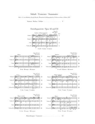 Franz Joseph Haydn: String Quartets Book VI: String Quartet
