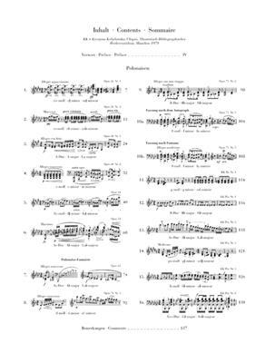 Frédéric Chopin: Polonaises: Piano